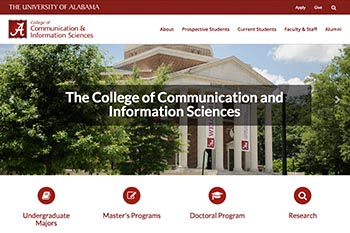 College of Communication and Information Sciences Website