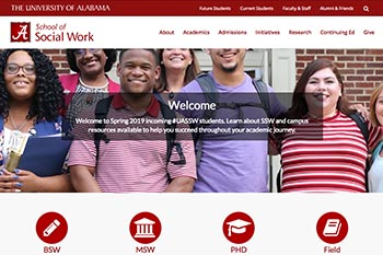 School of Social Work  Website